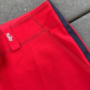 """NWOT Nike Golf """"Sunday Red"""" knickers"""